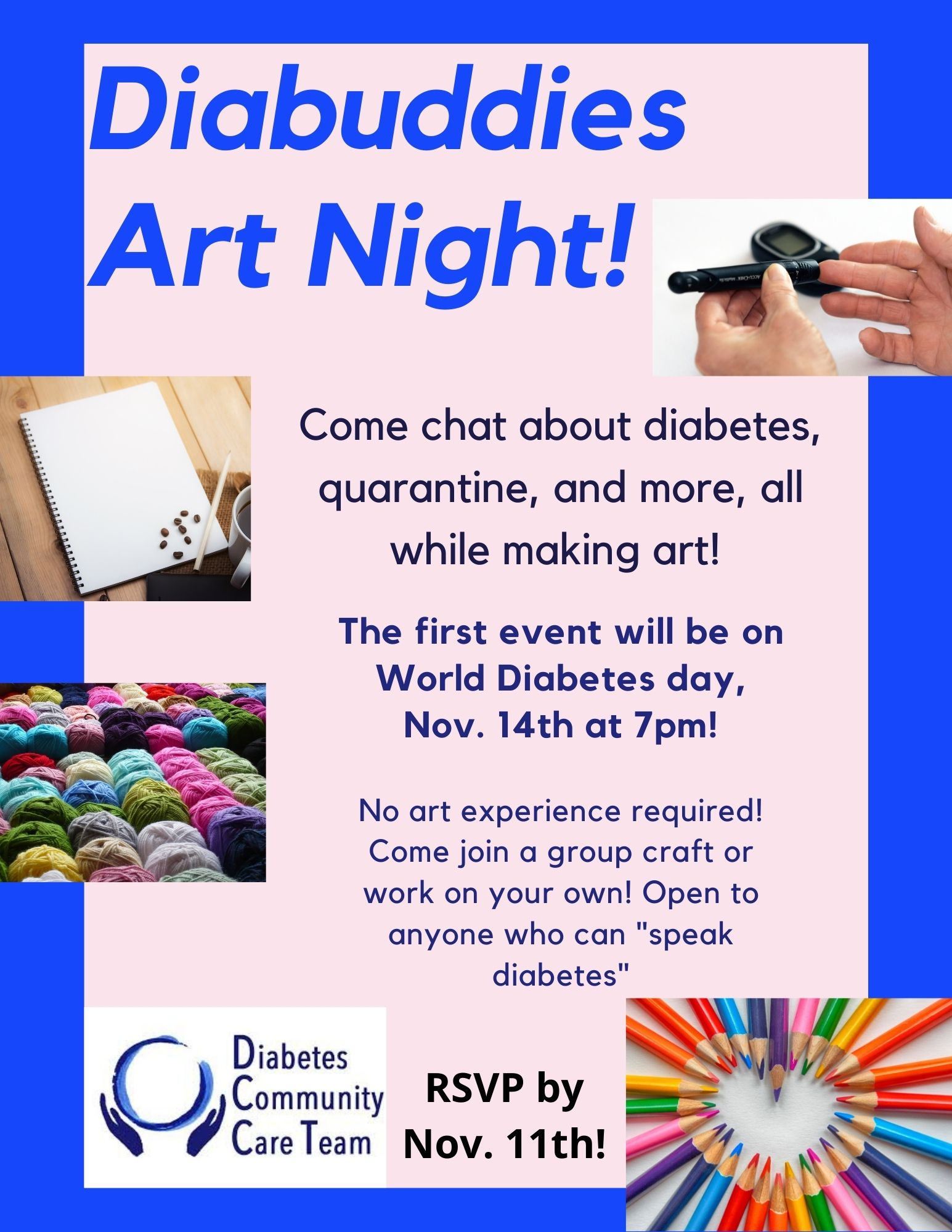 DiaBuddies Art Night